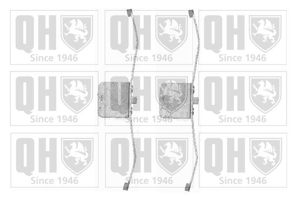 Kit de montage plaquettes de frein QUINTON HAZELL BFK937 (X1)