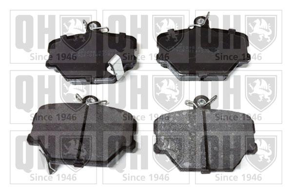 Plaquettes de frein avant QUINTON HAZELL BP1098 (X1)