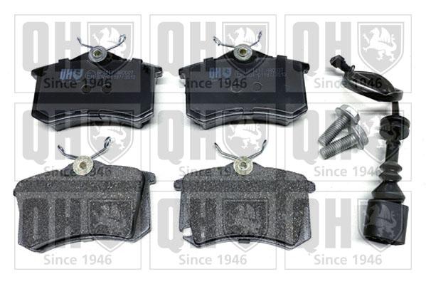 Plaquettes de frein QUINTON HAZELL BP1417 (X1)