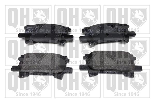 Kit de plaquettes de frein, frein à disque QUINTON HAZELL BP1465 (X1)