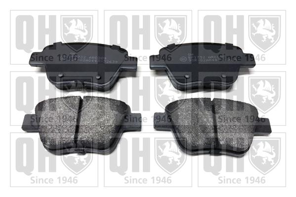 Plaquettes de frein QUINTON HAZELL BP1732 (X1)