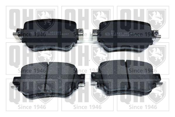 Plaquettes de frein arriere QUINTON HAZELL BP1843 (X1)