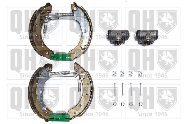 kit de frein arrière simple ou prémonté QUINTON HAZELL BS927K1 (X1)