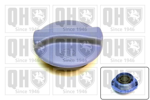 Bouchon, reservoir de liquide de refroidissement QUINTON HAZELL FC504 (X1)