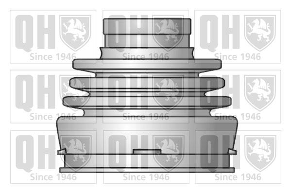Soufflet de cardan QUINTON HAZELL QJB2701 (X1)