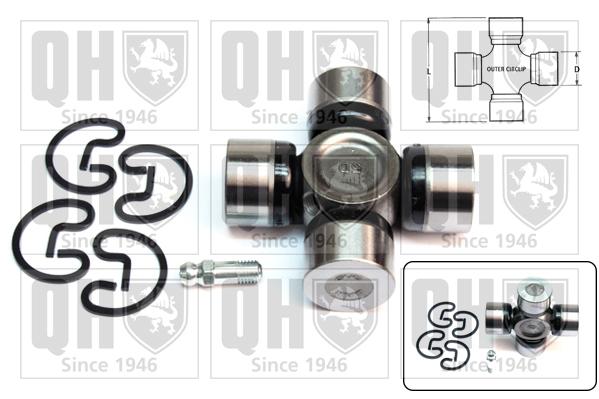 Accessoires de boite de vitesse QUINTON HAZELL QL102 (X1)