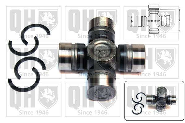 Accessoires de boite de vitesse QUINTON HAZELL QL11007 (X1)
