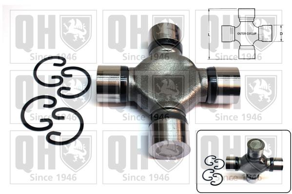 Accessoires de boite de vitesse QUINTON HAZELL QL15002 (X1)