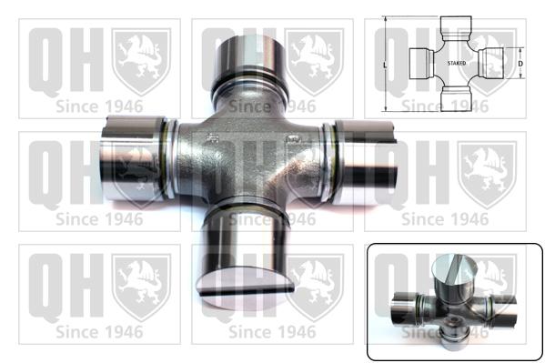 Accessoires de boite de vitesse QUINTON HAZELL QL1708 (X1)