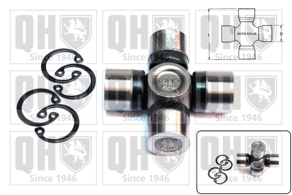 Accessoires de boite de vitesse QUINTON HAZELL QL19245 (X1)