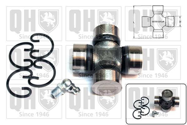 Accessoires de boite de vitesse QUINTON HAZELL QL202 (X1)