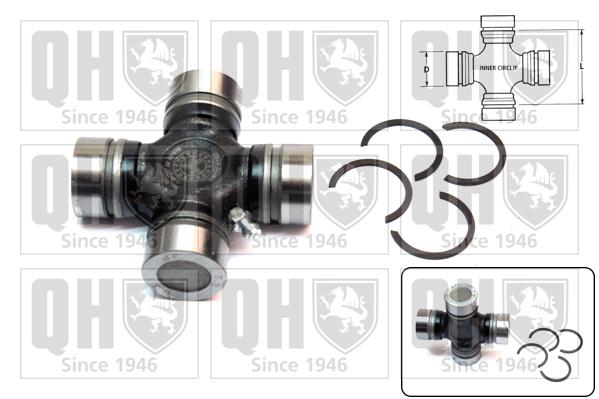 Accessoires de boite de vitesse QUINTON HAZELL QL361 (X1)