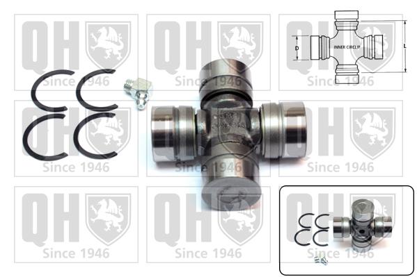 Accessoires de boite de vitesse QUINTON HAZELL QL505 (X1)