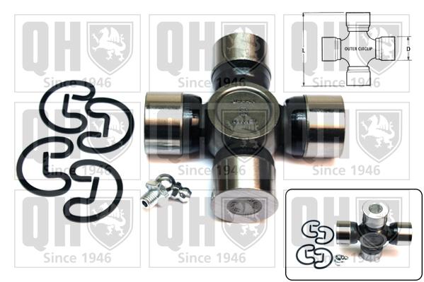 Accessoires de boite de vitesse QUINTON HAZELL QL508 (X1)
