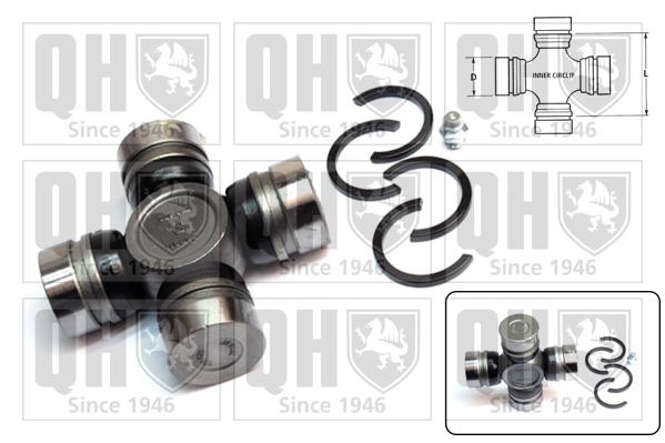Accessoires de boite de vitesse QUINTON HAZELL QL509 (X1)