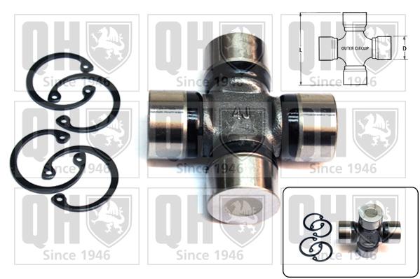 Accessoires de boite de vitesse QUINTON HAZELL QL522 (X1)