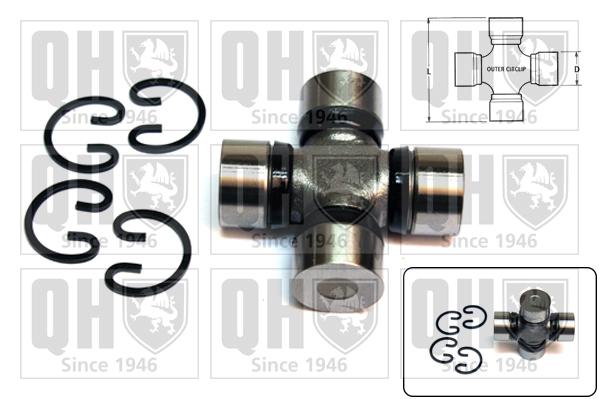Accessoires de boite de vitesse QUINTON HAZELL QL527 (X1)