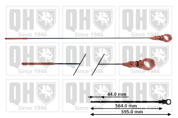 Jauge niveau d'huile QUINTON HAZELL QOD112 (X1)