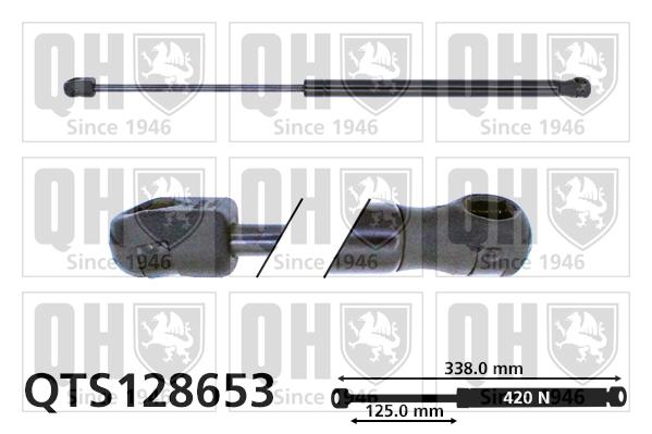 Verin de capot QUINTON HAZELL QTS128653 (X1)