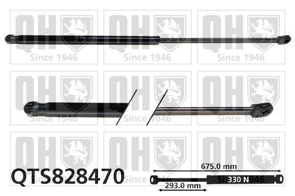 Verin de capot QUINTON HAZELL QTS828470 (X1)