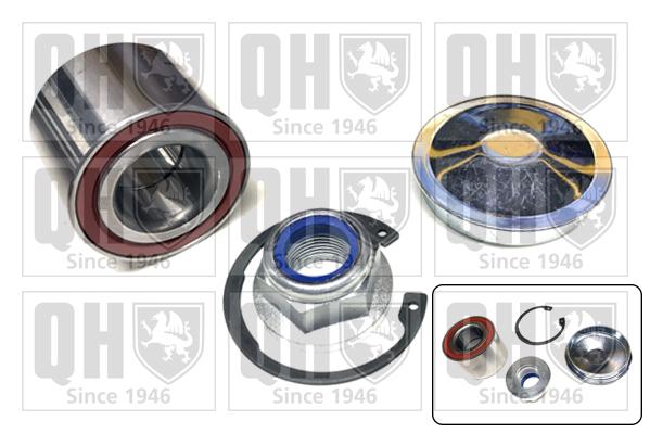 Roulement de roue QUINTON HAZELL QWB1088 (X1)