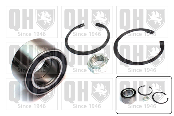 Roulement de roue QUINTON HAZELL QWB1191 (X1)