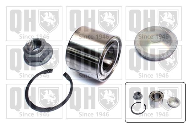Roulement de roue QUINTON HAZELL QWB1501 (X1)