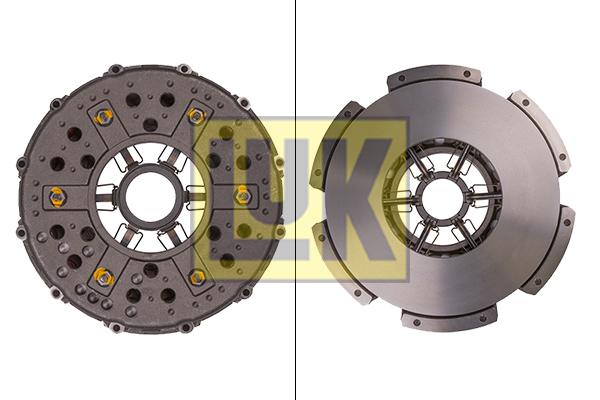 Mecanisme d'embrayage LuK 138 0002 10 (X1)