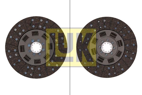 Disque d'embrayage LuK 328 0168 10 (X1)