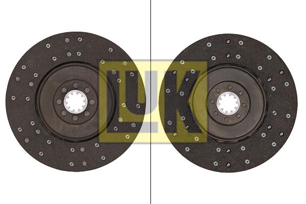 Disque d'embrayage LuK 330 0001 10 (X1)