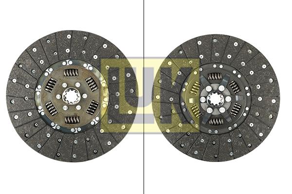 Disque d'embrayage LuK 331 0142 10 (X1)