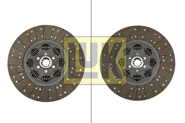 Disque d'embrayage LuK 340 0053 20 (X1)