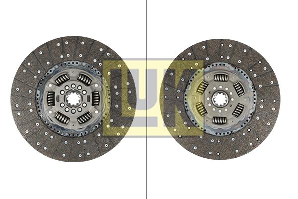 Disque d'embrayage LuK 342 0092 10 (X1)