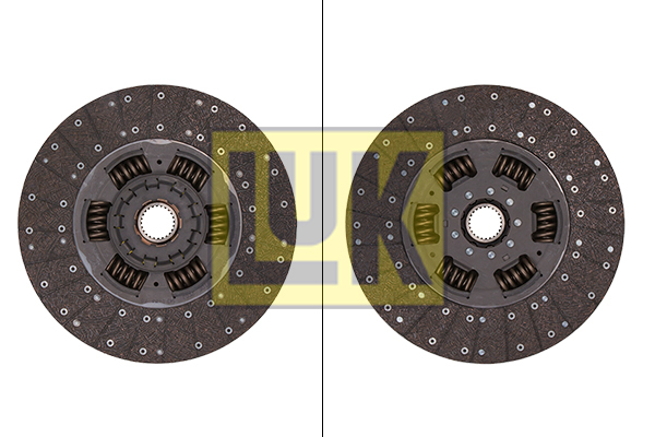 Disque d'embrayage LuK 343 0139 10 (X1)