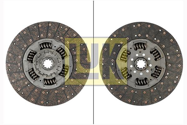 Disque d'embrayage LuK 343 0149 10 (X1)