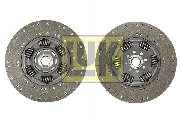 Disque d'embrayage LuK 343 0181 10 (X1)
