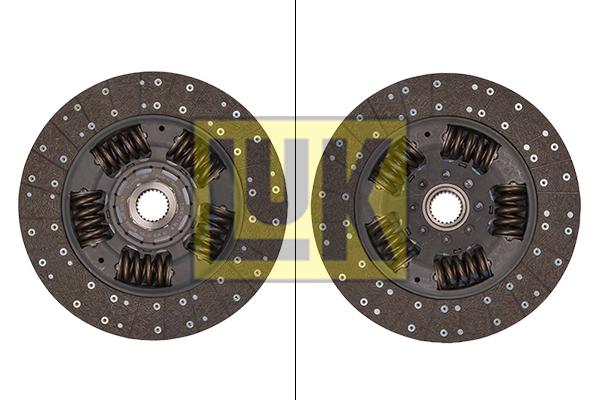 Disque d'embrayage LuK 343 0253 10 (X1)