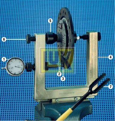 Appareil d'essai/de pointage, disque d'embrayage LuK 400 0006 10 (X1)