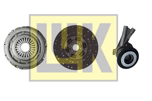 Kit d'embrayage LuK 636 3016 33 (X1)