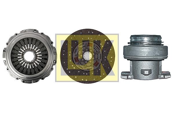 Kit d'embrayage LuK 640 2746 00 (X1)