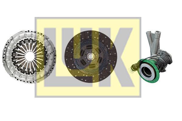 Kit d'embrayage LuK 640 3063 33 (X1)