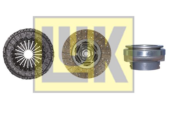 Kit d'embrayage LuK 640 3105 00 (X1)