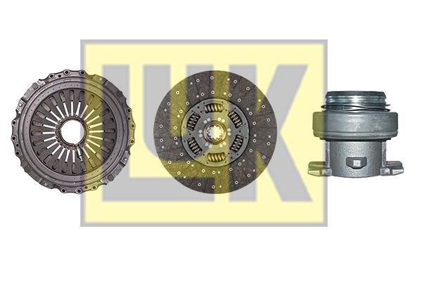 Kit d'embrayage LuK 643 2744 00 (X1)