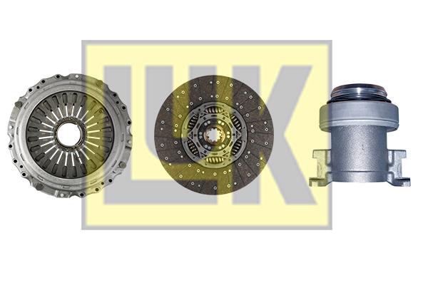 Kit d'embrayage LuK 643 2917 00 (X1)