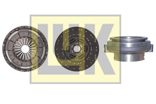 Kit d'embrayage LuK 643 3000 00 (X1)