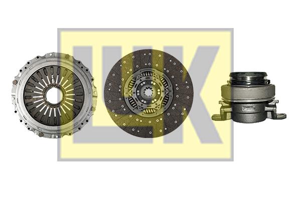 Kit d'embrayage LuK 643 3104 00 (X1)