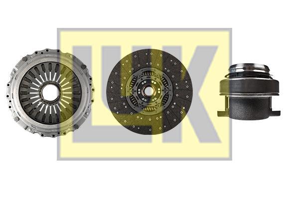 Kit d'embrayage LuK 643 3267 00 (X1)