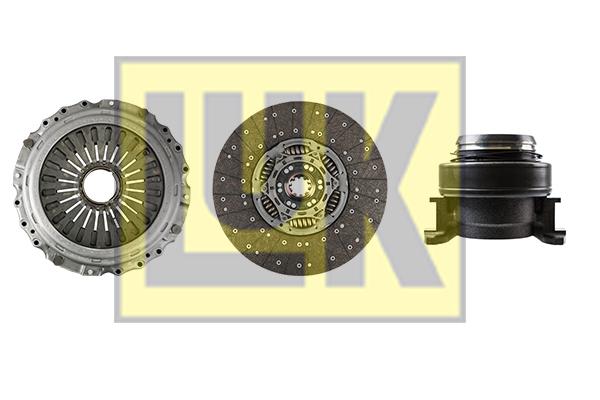 Kit d'embrayage LuK 643 3271 00 (X1)