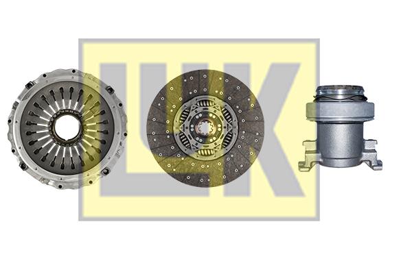 Kit d'embrayage LuK 643 3375 00 (X1)