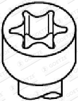 Vis de culasse GOETZE 22-26022B (X1)